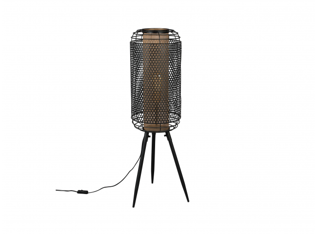 Vloerlamp ARCHER XL - Zwart