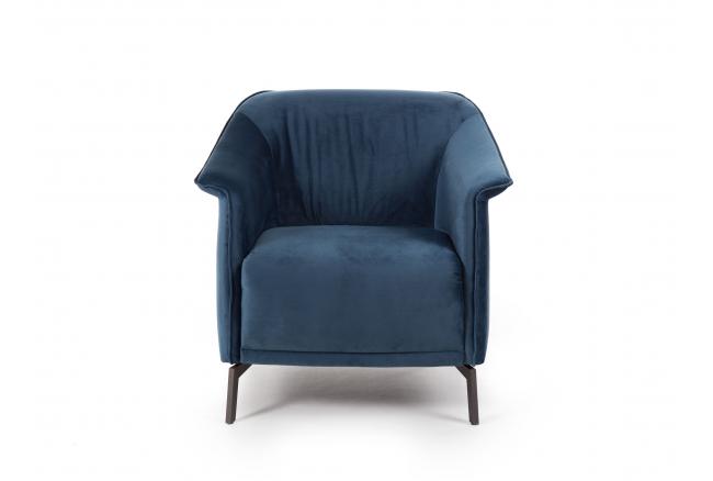 Fauteuil LOU - Velvet Blue Gre