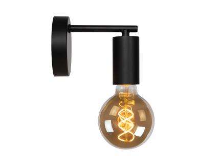Wandlamp LEANNE - Zwart