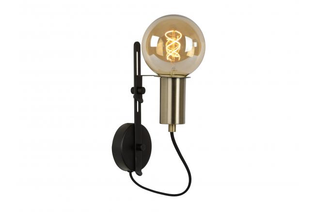 Wandlamp MALCOLM - Zwart