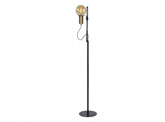 Vloerlamp MALCOLM - Zwart