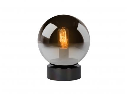 Tafellamp JORIT - Smoke glas