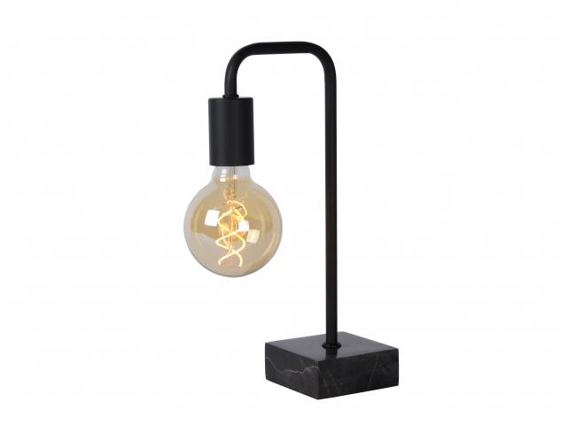 Tafellamp LORIN - Zwart/marmer