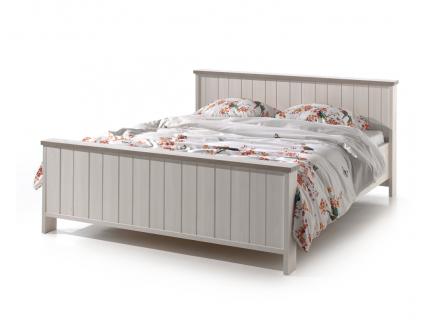 Bed 160cm 'York' - kleur: Lariks + cryst