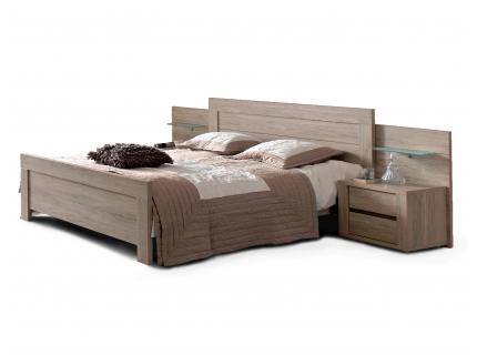 Bed 180 cm 'Rocca' - kleur: Wood