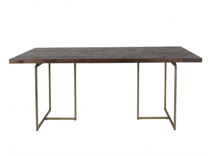 Tafel CLASS - Acacia/goud