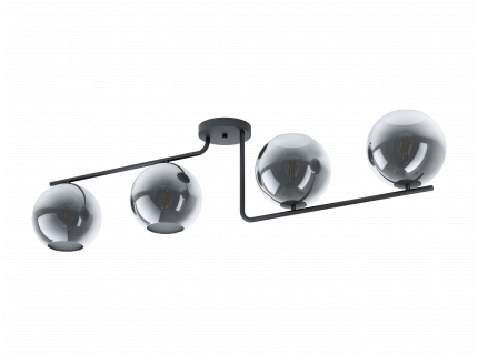 Plafondlamp MAROJALES - Zwart