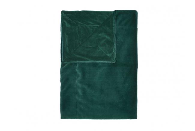 Plaid FURRY - Pine green