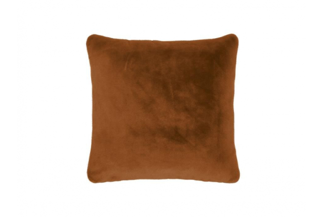 Kussen FURRY - Leather brown