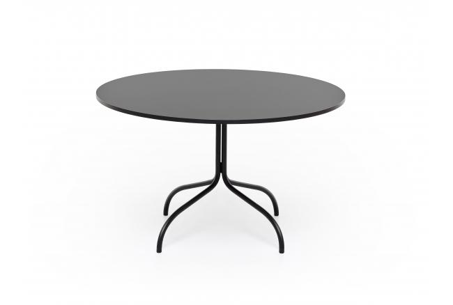 Ronde tafel FRIDAY - Mat zwart
