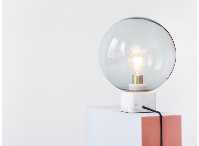 Tafellamp MUSE - Grijsblauw