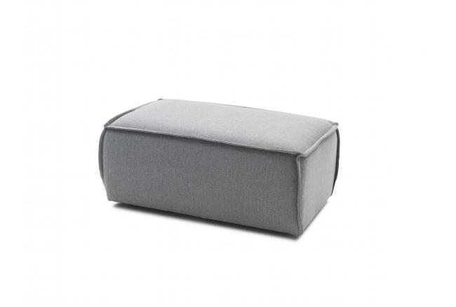 Voetbank EDGE - Sydney grey