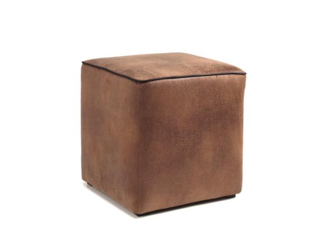 Poefje 'Polo' - kleur: Tobago brown