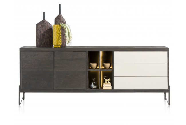 Dressoir MONTPELLIER - Carbon/