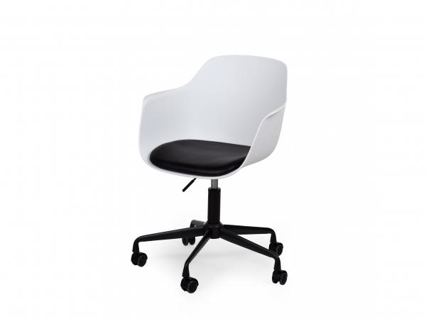Design Bureaustoel Wit.Bureaustoel City Wit Wit Deba Meubelen
