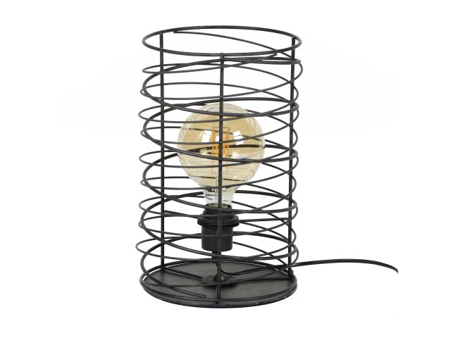 Tafellamp SPIRAAL - Charcoal