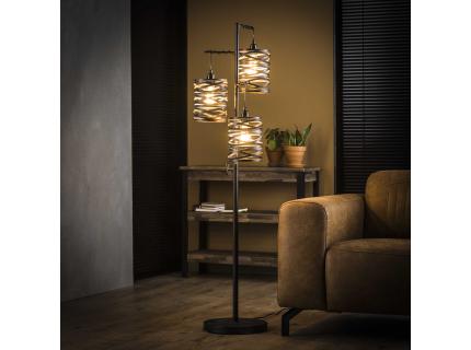 Vloerlamp SPINDLE - Slate grey