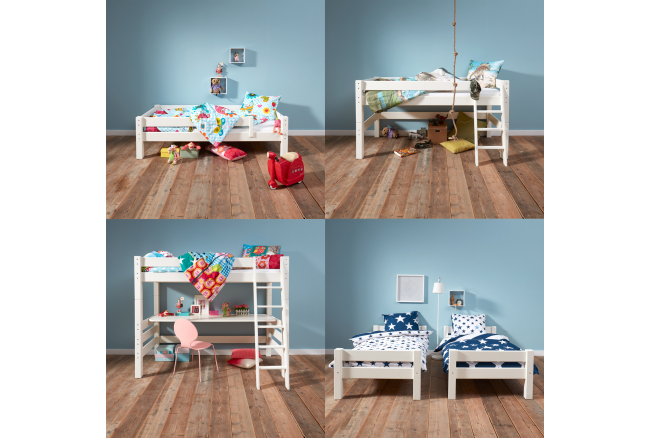 Juniorbed/Hoogslaper 'Bed4Life