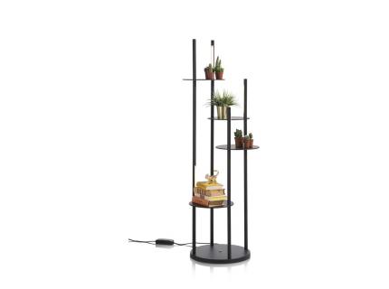 Vloerlamp TYLER - Zwart