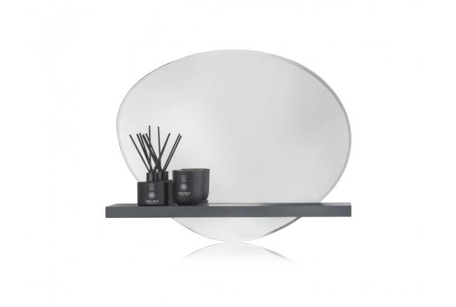 Wandspiegel met schap LEILA -