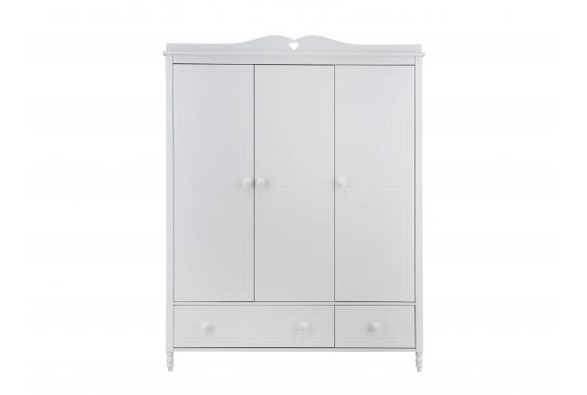Kleerkast 3 deuren EMMA - Wit
