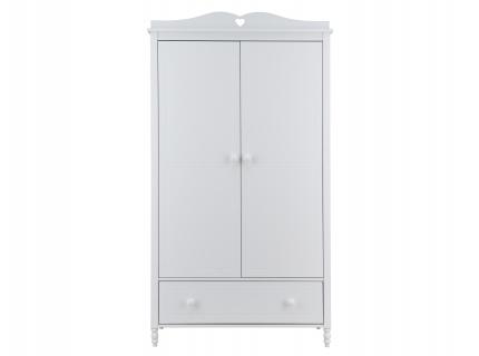 Kleerkast 2 deuren EMMA - Wit