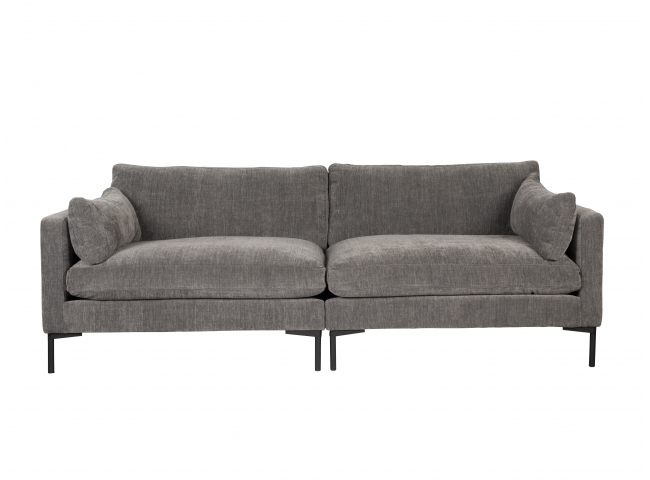 3-zit sofa SUMMER - Antraciet
