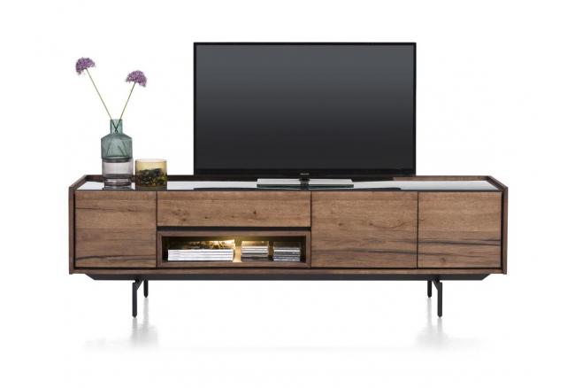 Tv-kast HALMSTAD - Choco brown