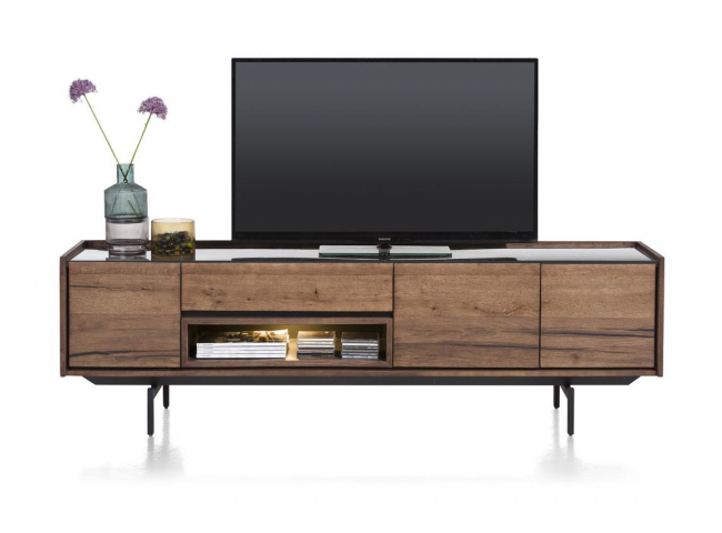 Tv-kast HALMSTAD - Choco brown