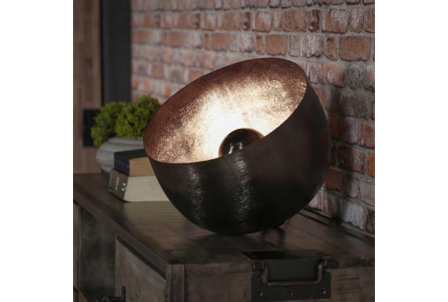 Tafellamp BASKET L - Zwart nik