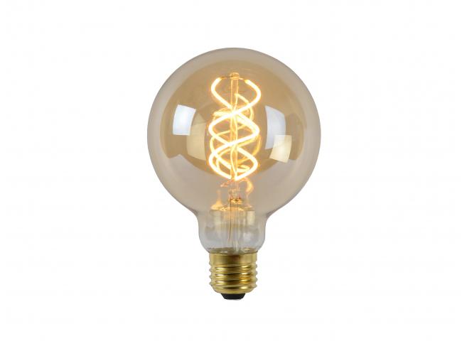 Lichtbron E27/LED 5W A - Amber