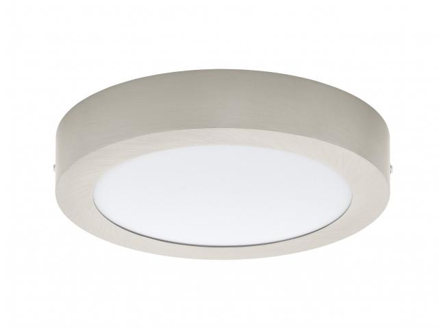 Plafondlamp FUEVA 1 - Nikkel/w