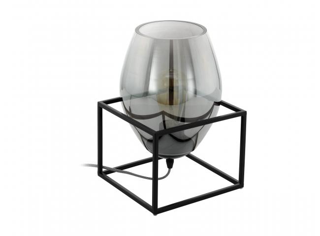 Tafellamp OLIVAL 1 - Zwart fum