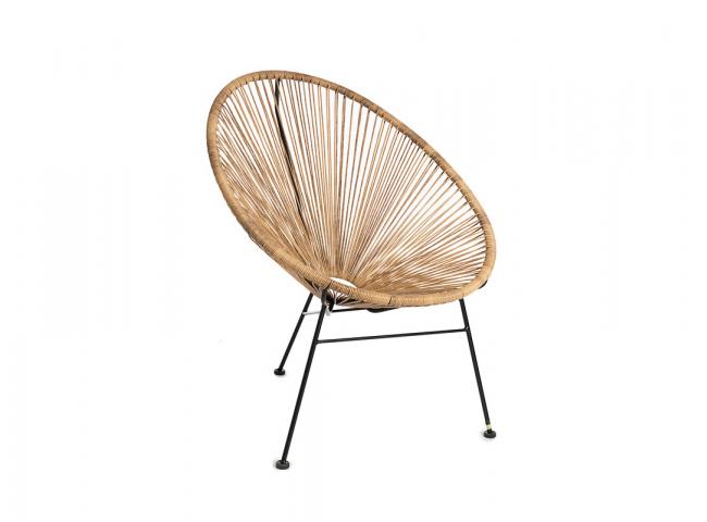Rotan stoel - Naturel