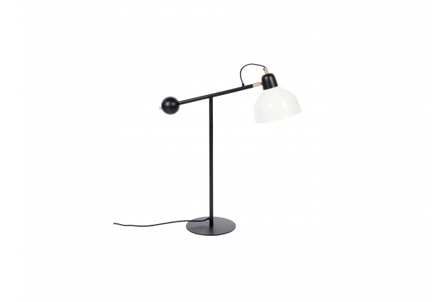 Bureaulamp SKALA - Zwart/Wit