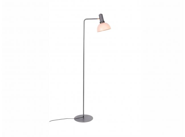 Vloerlamp CHARLIE - Grijs/Zalm