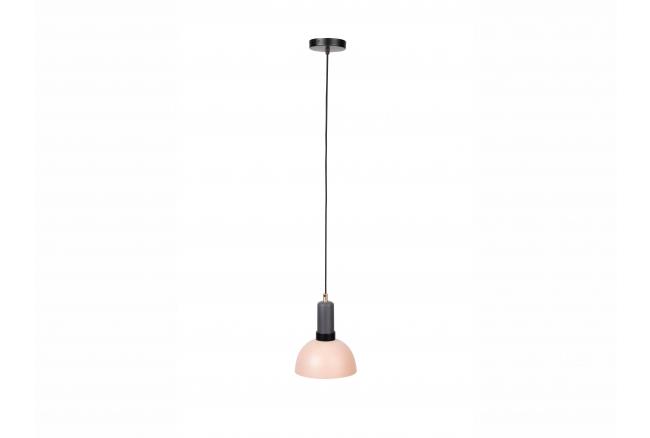 Hanglamp CHARLIE - Grijs/Zalm