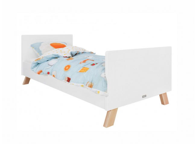 Bed LISA - Wit/Naturel