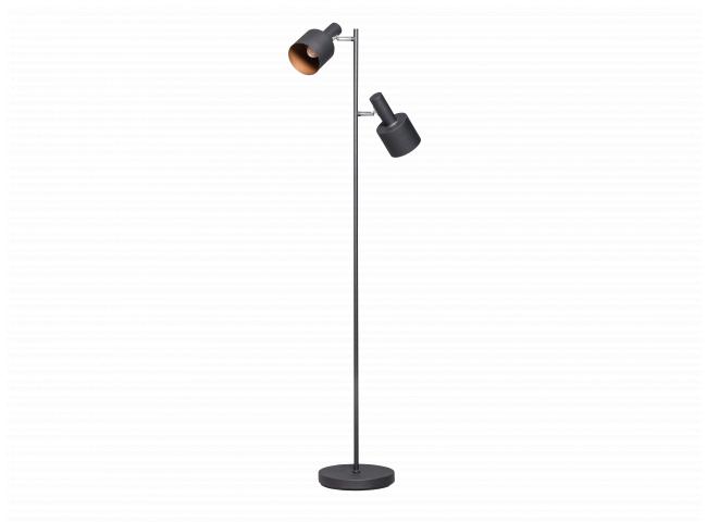 Vloerlamp SLEDGE - Zwart