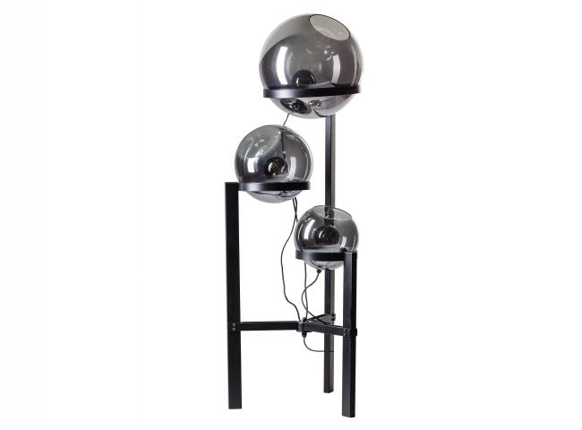 Vloerlamp ORB - Zwart/spiegelg
