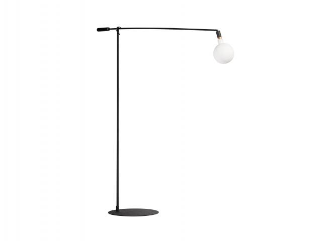 Vloerlamp XL Mike - Zwart