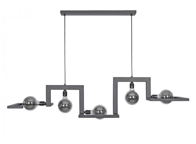 Hanglamp TORTORA - Zwart