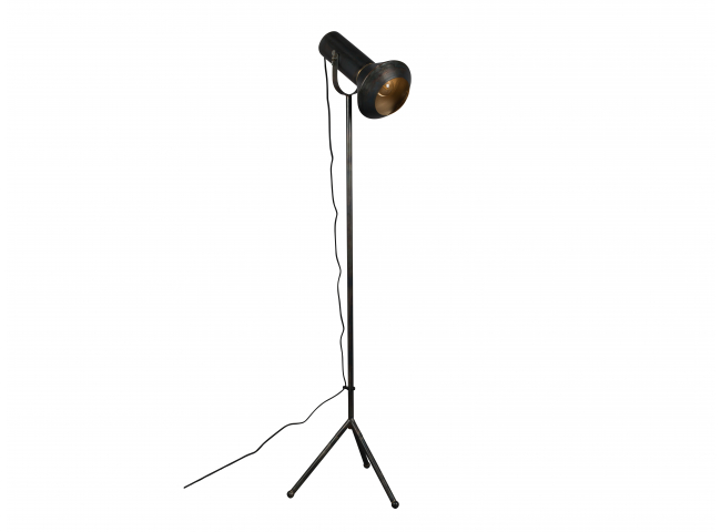 Vloerlamp VOX - Zwart ijzer