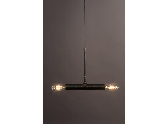 Hanglamp DOPPIO - Zwart ijzer