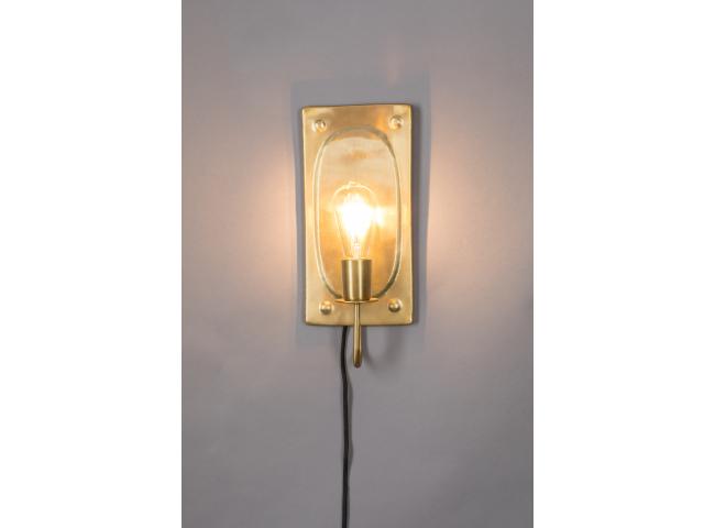 Wandlamp BRODY - Vintage brown