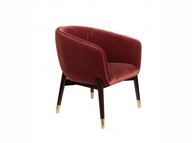 Lounge Chair DOLLY - Paars