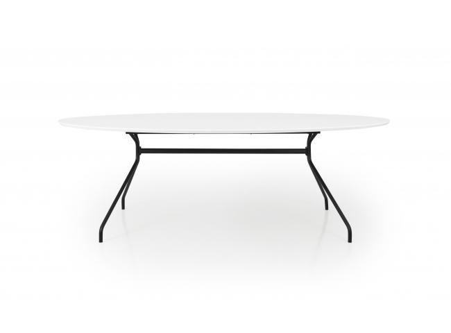 Tafel EGO ECLIPSE - Wit/zwart