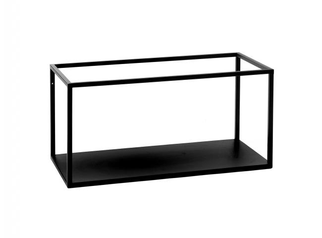 Rek ESZENTIAL - Zwart metaal