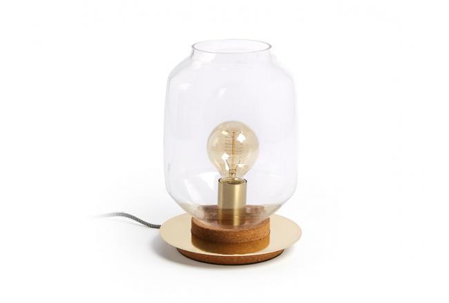 Tafellamp MERY - Metaal brons