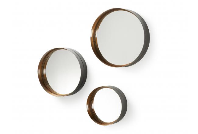 Set van 3 spiegels WILSON